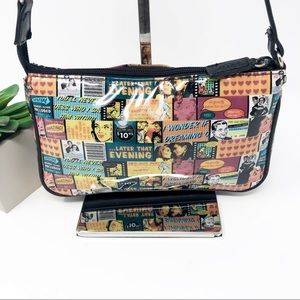 Relic by Fossil Pop Art Poster Collage Print Purse